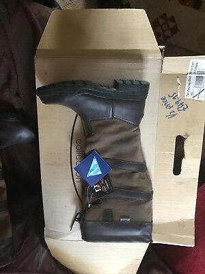 Mark Todd yard and riding boots in brown brand new