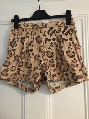 Camilla And Marc Shorts Size 8 Leopard