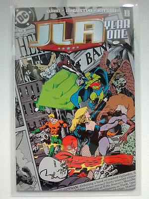 JLA ~ YEAR ONE #1 (DC Comics, Justice League of America, 1998)