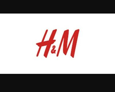 H&m Gift Card Voucher £56.03