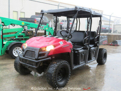 2014 Polaris Ranger EFI 570 Crew Cab 4WD Utility Vehicle UTV Cart bidadoo