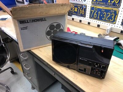 Bell & Howell Lumina II MX60 Super 8MM Movie Projector Tested Vintage