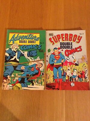 Double Double Comics - 2 Issue Bundle - See Ad For List.