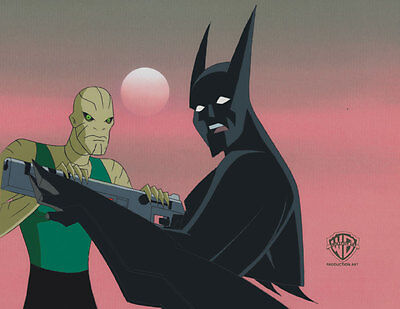 Batman Beyond Animation Production Cel - Warner Bros. Seal Of Authenticity!!!!!!