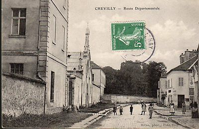 Cpa France (Date Illisible) - Chevilly, Rue Principale -