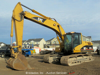 "2001 Caterpillar 320CL Hydraulic Excavator A/C Cab CAT 138HP 32"" Bucket bidadoo"