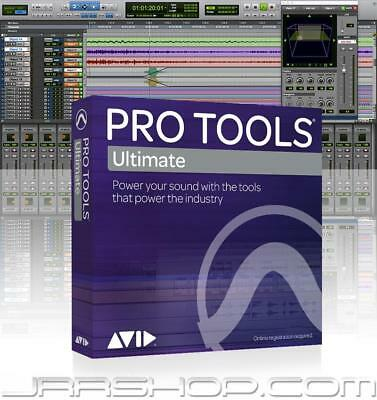 Avid Pro Tools 12 Ultimate Perpetual License eDelivery JRR Shop
