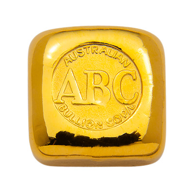1oz ABC Bullion Cast Bar 9999% Gold