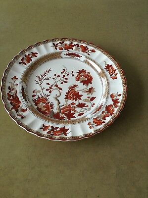 Spode Indian Tree, New Mark, 4 Dinner Plates, 10 2/8 inches