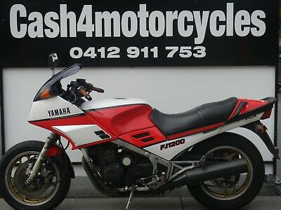 YAMAHA FJ1200 1985 MODEL FIRST OF THE 1200's SELLING AS TRADED @ $1 AUCTION