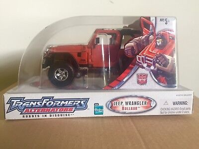 Transformers Alternators Rollbar (Jeep Wrangler) MISB