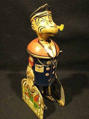 ANTIQUE 1930's Walking Popeye with Pipe – Prime Collectible