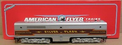 Lionel American Flyer Trains 6-48128 Silver Flash Alco PB-1 Non-Powered S Gauge