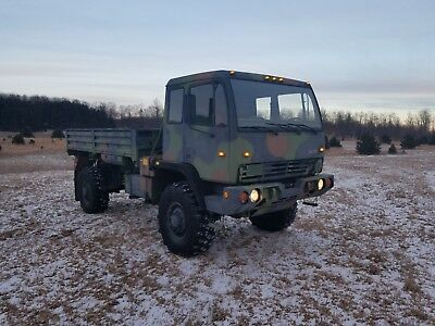 Stewart And Stevenson Lmtv 1078  Military Truck - Great Deal - Low Miles!!