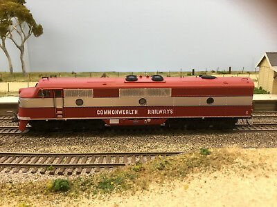 """LATEST RELEASE"" TrainOrama, GM Class Loco, HO Scale, CR Maroon & Silver, GM6"