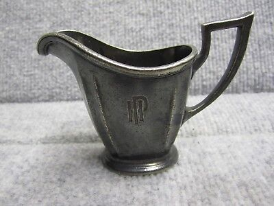 Palmer House Hotel Vintage Hotel Silverplated CREAMER made by GMCO 1920