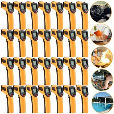 Non-Contact IR Laser Infrared Digital Temperature Meter Thermometer 1-20PCS TO
