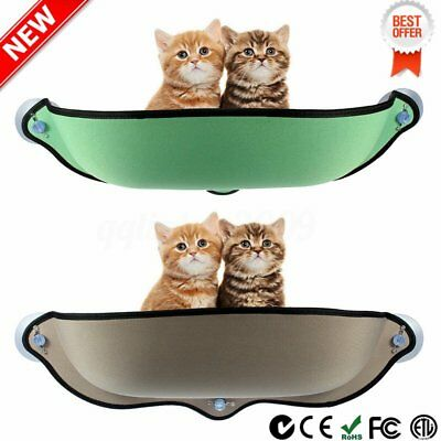 Cat Window Bed Hammock Removable Seat  Mounted Pad Hanging Cushion FG