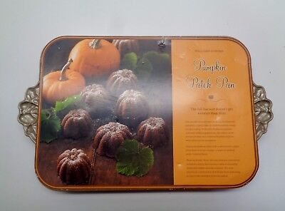 EXCELLENT Nordic Ware PUMPKIN PATCH Cake Mold Pan THANKSGIVING FALL Holiday