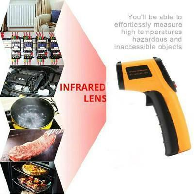 Non-Contact IR Infrared Digital Temperature Thermometer Laser Point Gun hot RJ