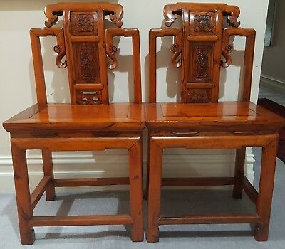 Antique Rare Chinese Imperial Chairs