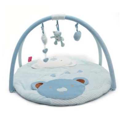 D33 Cartoon Animal Baby Bodybuilding Frame Velvet Cotton Play Mat Activity Gym A