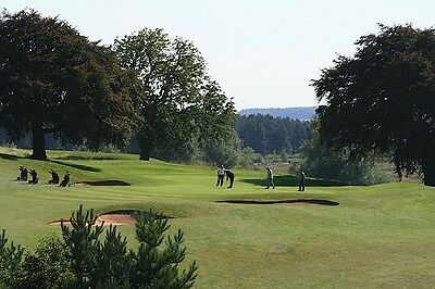 Macmillan Charity Golf Voucher 4 Ball at Rufford Park Golf Club  rrp £96..