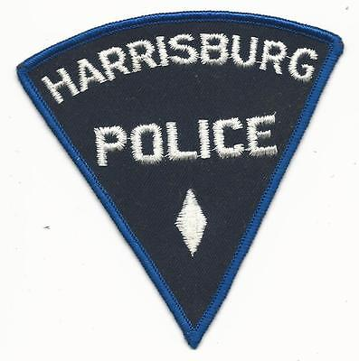 """PA Harrisburg Pennsylvania Police Patch Sew On Free Shipping 4 1/4"""" x 4 1/4"""""""