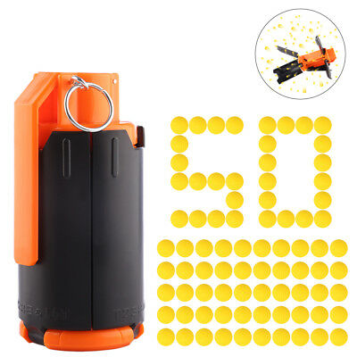 Tactical Plastic Modified Crystal Water Beads Bomb with 50 Pcs Yellow Bullets