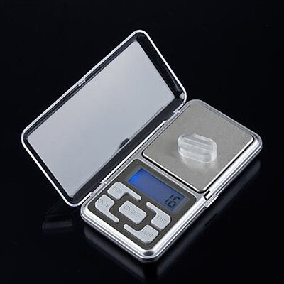 Mini Digital Lcd Electronic Jewelry Pocket Portable Gram Weight Balance Scale Sm