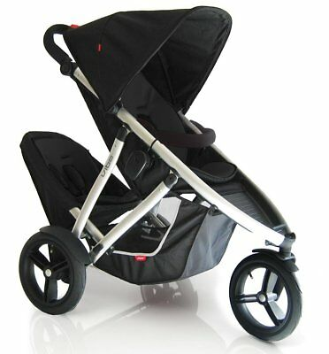 PHIL&TEDS stroller buggy poussette duo double pliable foldable