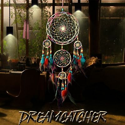 Gift Home Decor Handmade Feather Net Car Ornaments Wall Hangings Dream Catcher