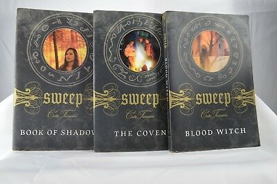 SWEEP Witchcraft Wicca Series by Cate Tiernan Lot 12 Young Adults PB 2001