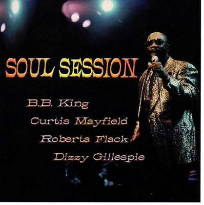 SOUL SESSION BB King, Curtis Mayfield, Roberta Flack,Les McCann NEW SOUL JAZZ CD
