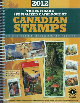 Scotts - Unitrade Specialized Catalogue of Canadian Stamps 2012