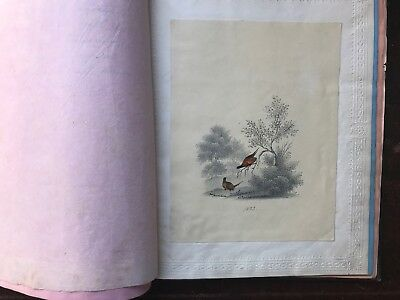 1839 Dated Early Victorian Pencil Sketches Poem Album some Luther texts