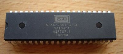 5 x Western Design Center W65C22S6TPG-14 (CMD / Rockwell) VIA