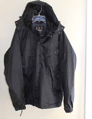 Men's Barbour -Sz XL Waterproof Short International Rain Jacket Coat