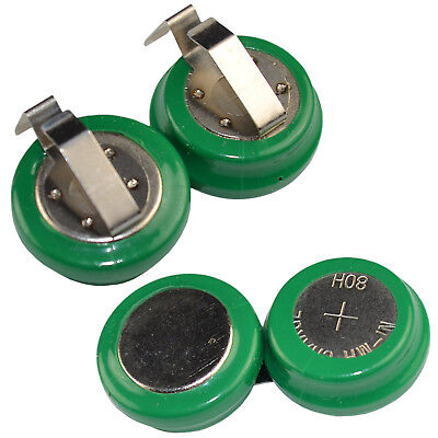 2.4V 80mAh Button Cell Battery for TV Accessories, V80H 80H 55608101501 (2 Type)