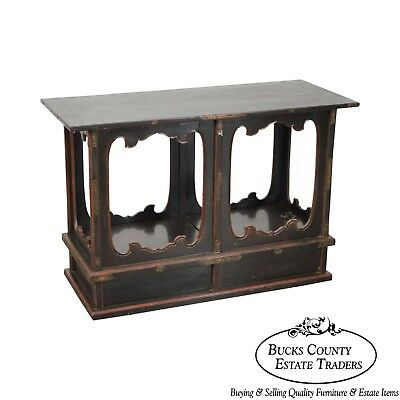 Antique Rustic Chinese Console Table