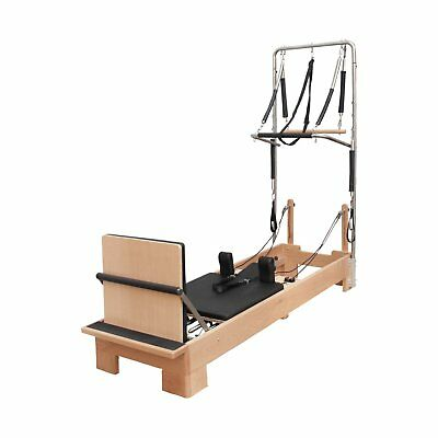 Pilates Reformer with Half Trapeze Cadillac by BBPC Commercial Pilates Machine
