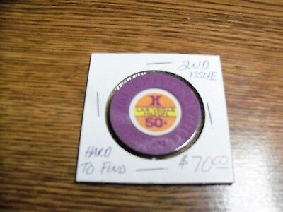 Las Vegas Hilton Casino Chip, 2nd Issue, Clean