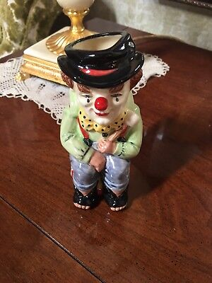Royal Doulton The Clown D6935 1992 Limited Edition Small Toby Mug Jug