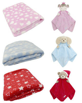 Babytown Cuddle Blanket Comforter With Additional Smaller Comforter Gift Idea