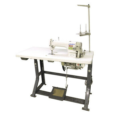 Juki DDL 8700 Single Needle Auto-Lube Sewing Machine w/ 1/2 HP Motor and Table