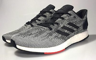 f6f6dc4610e6f Adidas Pureboost DPR NEW Men s Running Shoes Boost S80993 Gray White Black  Red