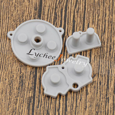 For GBA Game Boy Advance Replacement Silicone Conductive Button keypads 1 Set