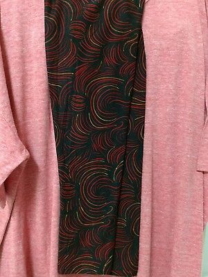 LULAROE  NWT Outfit 3XL Solid IRMA & TC Matching Leggings!  GORGEOUS OUTFIT