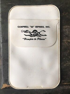Vintage Campbell 66 Express Pocket Protector Trucking Company Old Advertising
