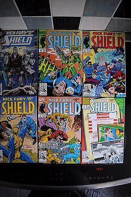 MARVEL NICK FURY'S AGENTS OF SHIELD 1993 VOL.2 NO.1 to 47 FULL RUN OF 47 COMICS